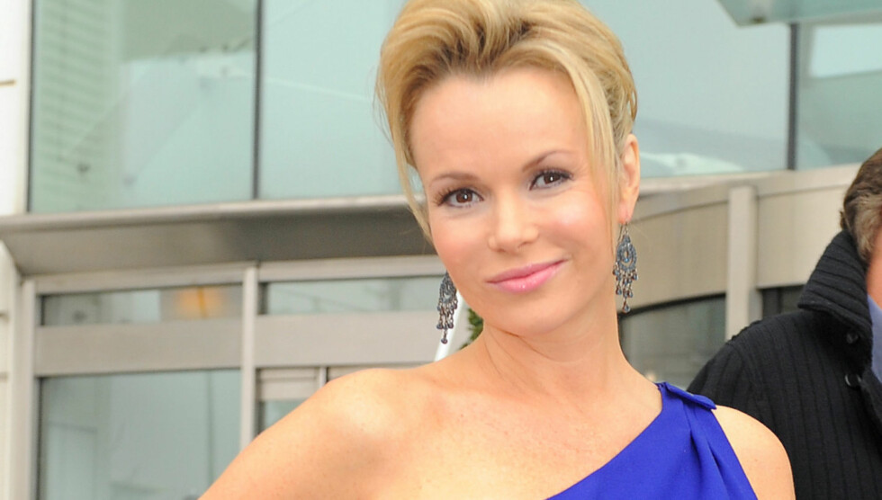 BILULYKKE: TV-stjernen fikk seg en ordentlig trøkk da hun kolliderte med en annen bil. Foto: All Over Press