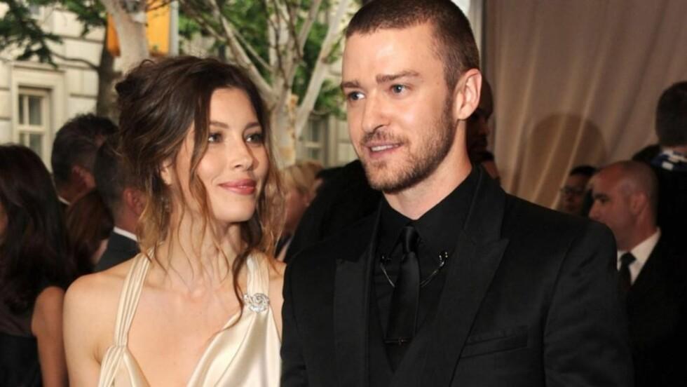 SAMMEN IGJEN: Det tidligere superparet Jessica Biel og Justin Timberlake skal angivelig ha funnet tilbake til hverandre. De to gjorde det slutt i våres, etter å ha vært et par siden 2007. Her er de to avbildet på en gallatilstelning i mai 2010.  Foto: All Over Press