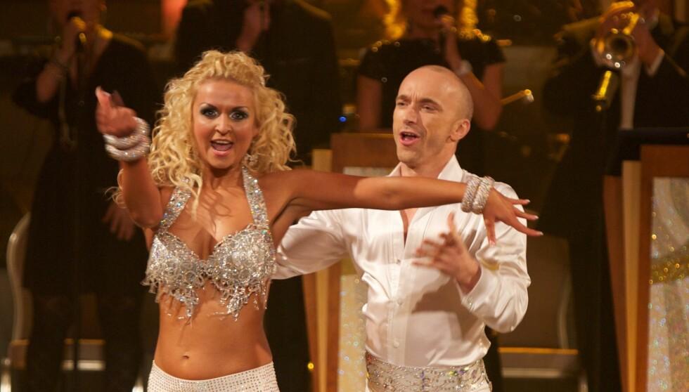 DANSET SAMMEN: Den vakre danserinnen Nadya, som i fjor danset med Åsleik Engmark i «Skal vi danse», skal i år svinge seg med Noman Mubashir. Foto: Stella Pictures