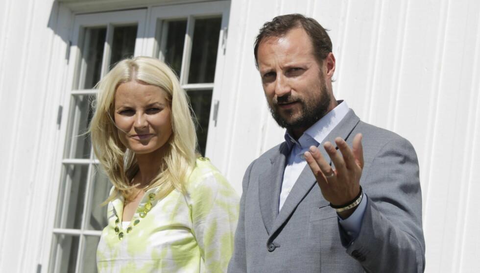 INGEN FLERE BARN?: Kronprinsparet tviler på at de kommer til å få flere barn. Foto: SCANPIX