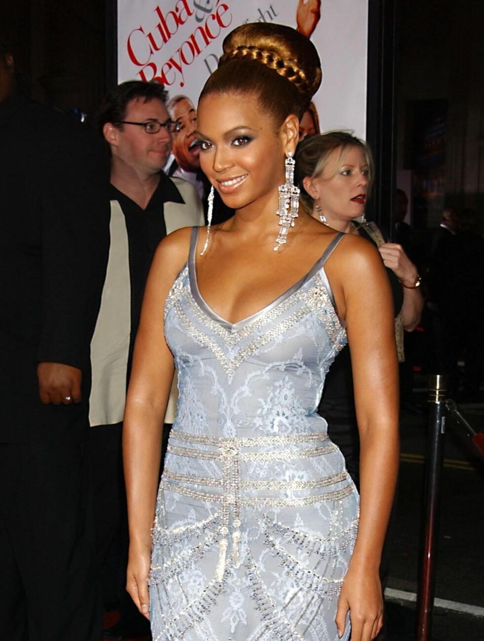 <strong>2003:</strong> Beyoncé Knowles har også spilt i flere filmer. Her avbildet på «The Fighting Temtations»-premieren i Hollywood. Foto: All Over Press