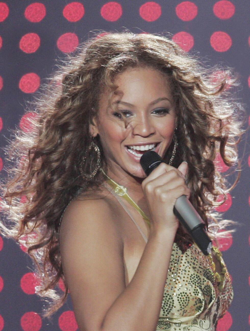 <strong>2005:</strong> Beyoncé avbildet under Destiny's Child «Destiny Fulfilled Tour» i Oakland, USA. Foto: All Over Press