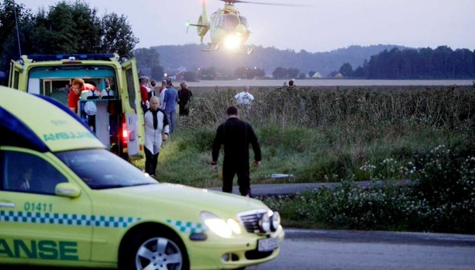 <strong>DØDE:</strong> Aksel hennies bror, Annan Forbes Hennie, omkom onsdag i en fallskjermulykke i Tønsberg. Foto: SCANPIX