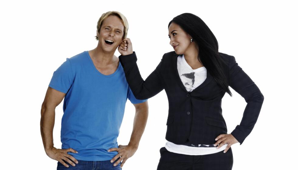 <strong>TV-AKTUELLE:</strong> - Det er hyggelig å få komplimenter for at jeg ser bra ut. Men det er vel ingen annen hemmelighet enn at jeg har det utrolig bra for tiden, sier en mye slankere Sarah Natasha Melbye, som i høst skal lede «Big Brother» sammen med Petter P Foto: TV 2