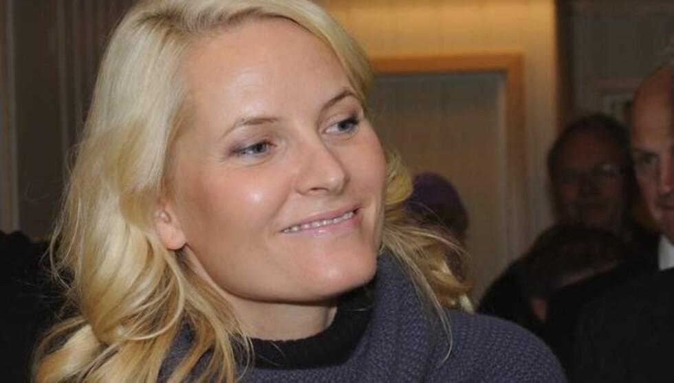 NAVNESURRR: Det Norske Myntverket beklager tabben som førte til at minnemedaljen for kronprinsparets bryllup ble preget med feil navn på kronprinsesse Mette-Marit. Foto: Stella Pictures