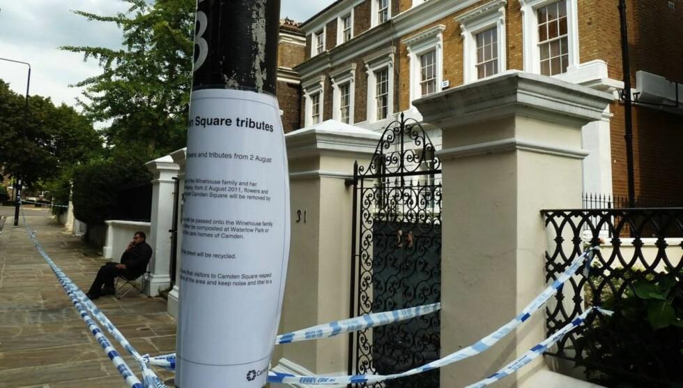 <strong>RUNDSTJÅLET:</strong> Amy Winehouses hjem i Camden-området i London har blitt rundstjålet etter at popartisten døde brått i juli. Foto: All Over Press
