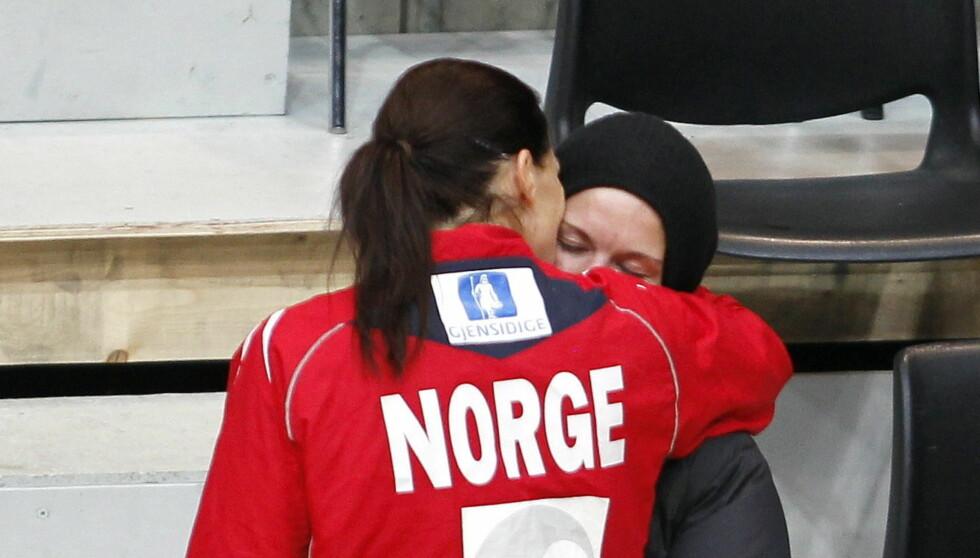 <strong>VENTER BARN:</strong> Gro Hammerseng bekreftet tirsdag at hun venter barn med kjæresten Anja Edin. Foto: NTB scanpix