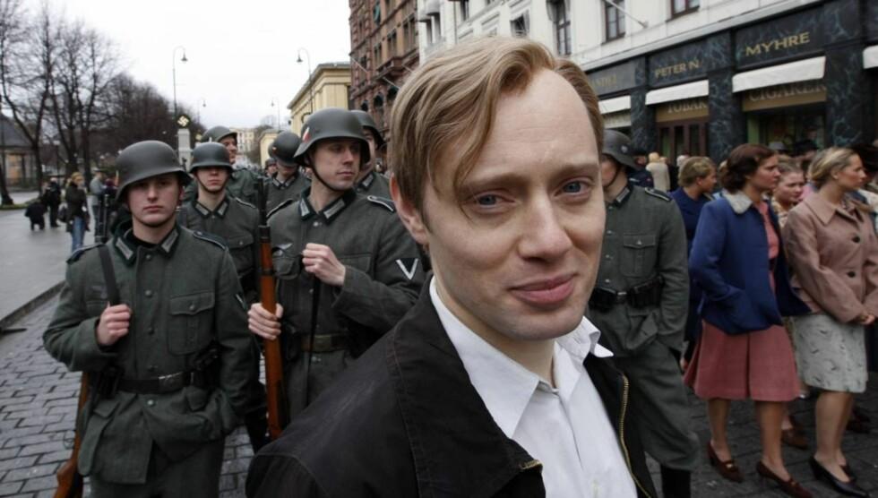 PROVOSERT: Aksel Hennie - som i 2008 spilte motstandsmannen Max Manus på film - sier til VG at han er kraftig provosert over Anders Behring Breiviks uttrykte beundring for helten fra andre verdenskrig. Foto: SCANPIX