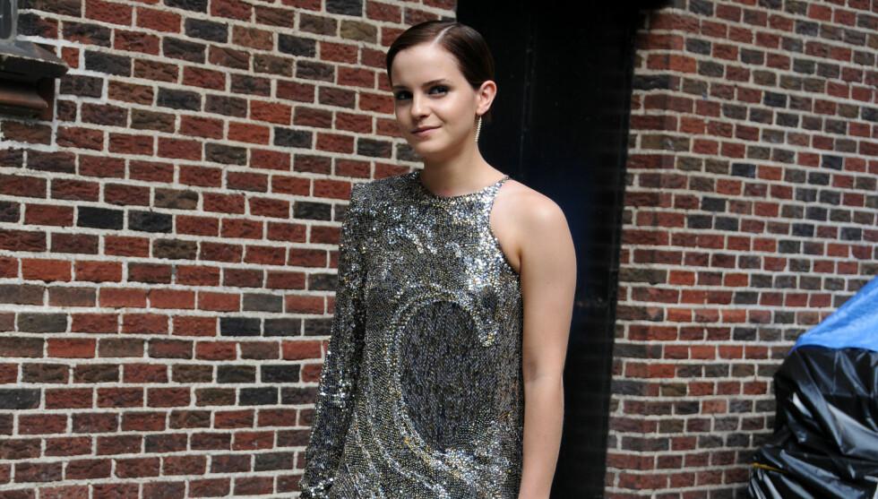 <strong>SKJULTE NULL:</strong> - De virket å være svært åpne om det, de prøvde ikke å skjule noe, sier et øyenvitne om kysseseansen mellom Emma Watson og Johnny Simmons.