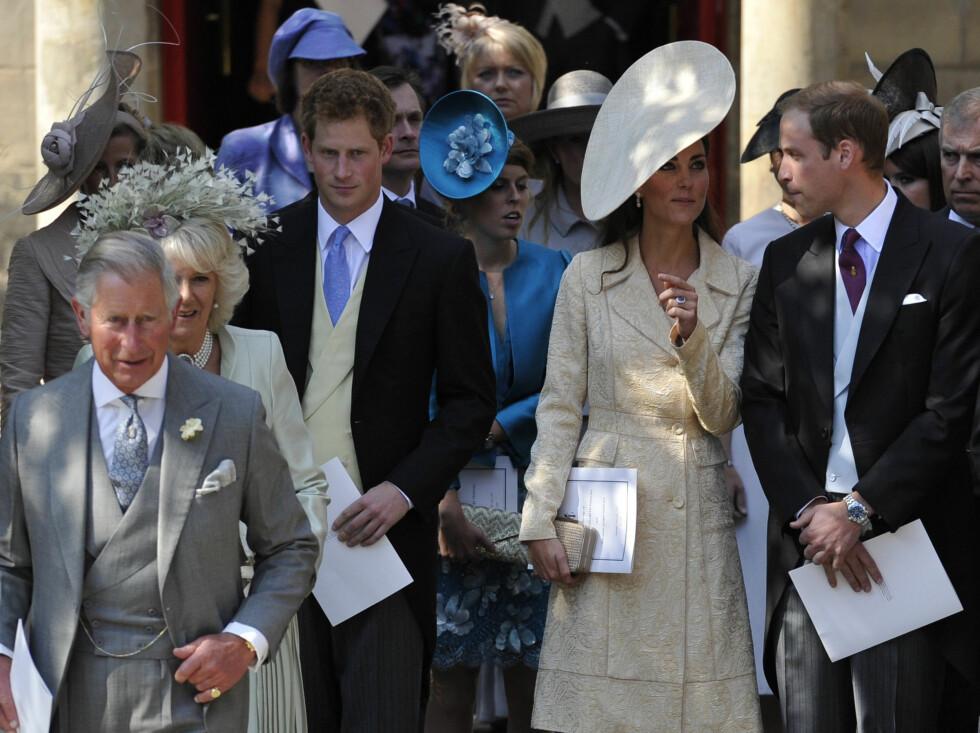 I SKOTTLAND: Bryllupet ble arrangert i Edinburgh. Foto: Reuters