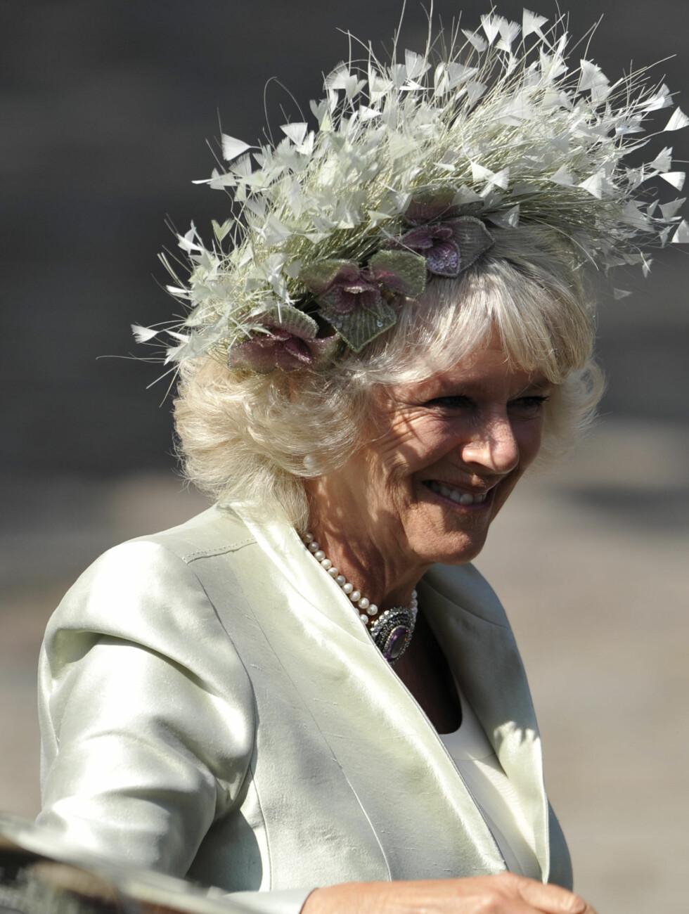 PÅ PLASS: Hertuginne Camilla. Foto: Reuters
