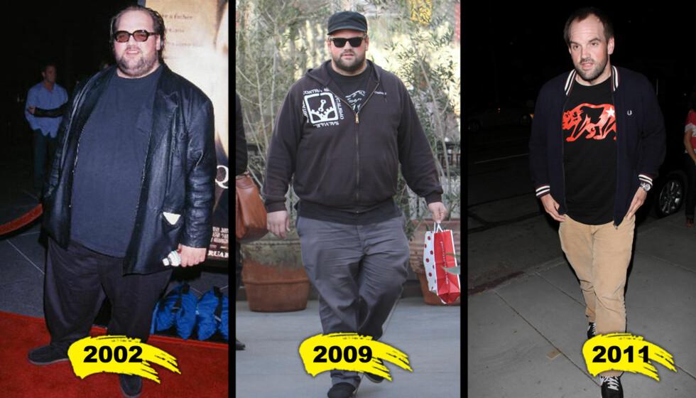 HALVE MANNEN: «My Name Is Earl»-skuespiller Ethan Suplee er blitt halve mannen av hva han var i 2002.  Foto: All over press