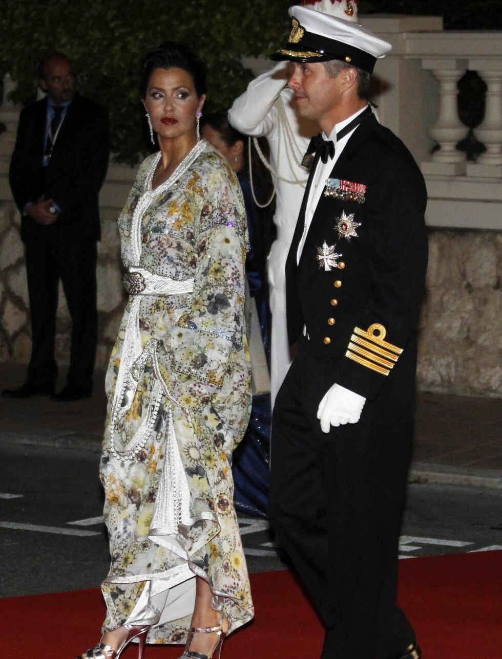 DANSK-MAROKKANSK: Kronprins Frederik av Danmark og prinsesse Lalla Meriem fra Marokko. Foto: Scanpix