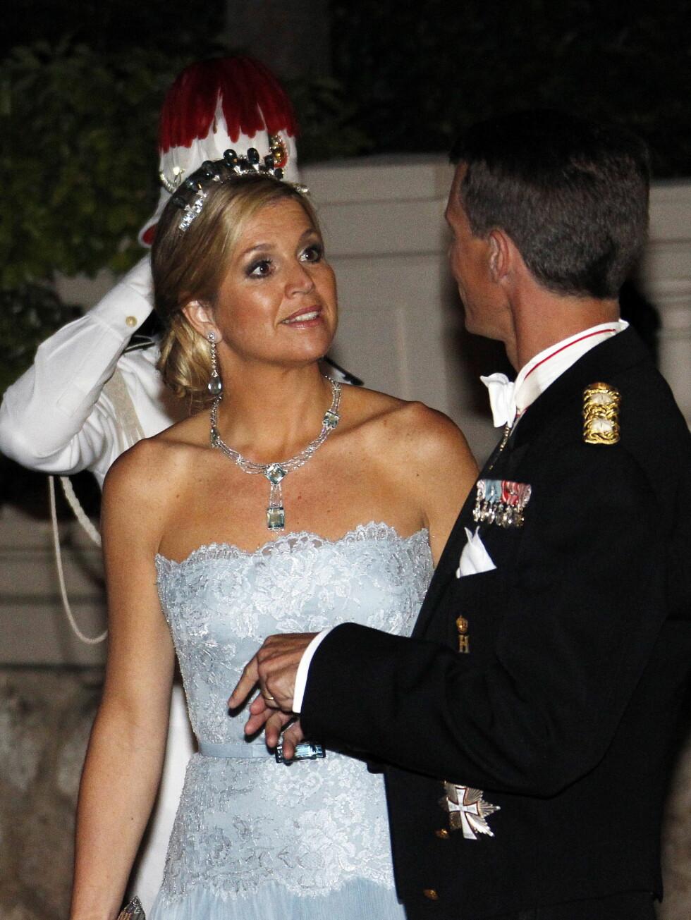 NEDERLAND-DANMARK: Kronprinsesse Maxima av nederland med danske prins Joachim, Foto: Scanpix