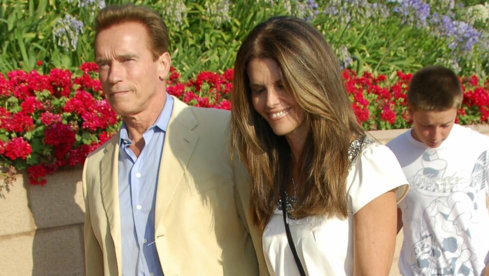 SKILLES: Nå har Maria Shriver søkt om skilsmisse fra Arnold Schwarzenegger. Foto: All Over Press