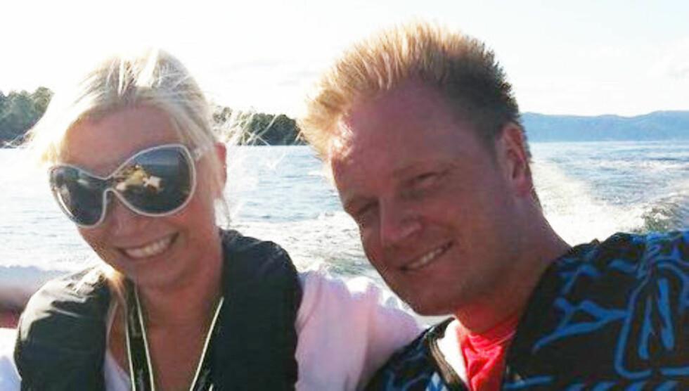 FORELSKET: Morten Vagnild er «Jakten»-frier Silja Bjørnsens nye kjæreste. Foto: Privat