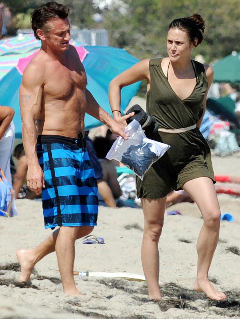 <strong>VIL DET VARE?:</strong> Sean Penn dumpet nylig Scarlett Johansson fordi han ikke ønsket et seriøst forhold. Foto: All Over Press