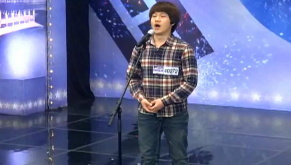 <strong>MOT STJERNESTATUS:</strong> Choi Sung-Bongs opptreden på Korea's Got Talent har gjort ham til stjerne. Foto: Choi Sung-Bong