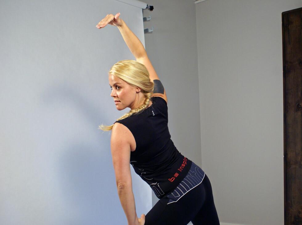 HEADHUNTET: Den tidligere MTV-programlederen fikk modellspørsmål mens hun selv hadde time på treningssenteret Elixia. Foto: Privat