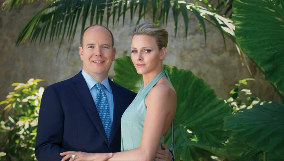 INNGÅR EKTESKAP: Albert og Charlene Wittstock gifter seg neste helg i Monaco. Foto: Stella Pictures