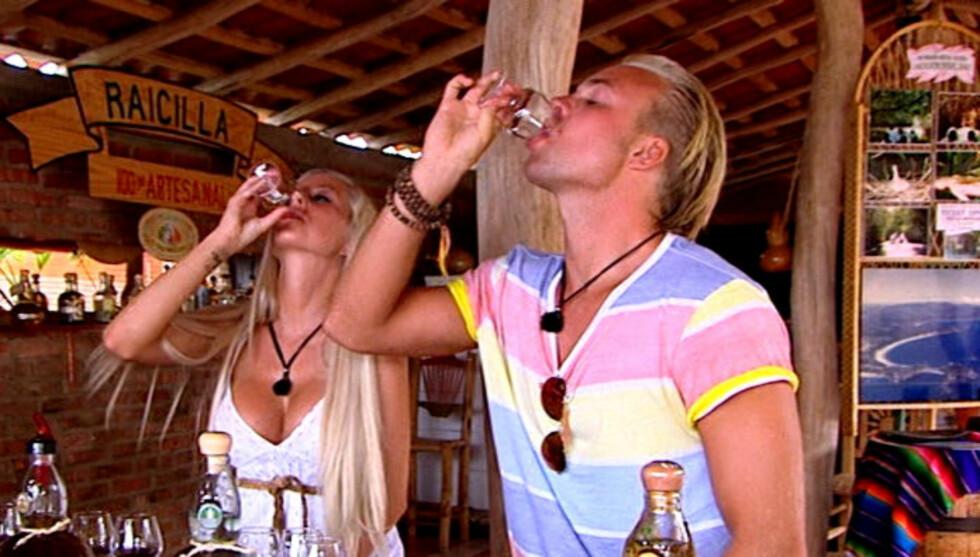 FESTEHOTELL: Carl Eliassen innrømmer at det ble mye festing på og etter deltagelsen i «Paradise Hotel».  Foto: TV3