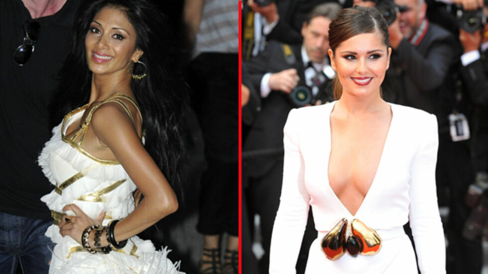 BATTLE OF THE BABES: «Pussycat Doll» Nicole Scherzinger (t.v) overtar britiske Cheryl Coles rolle som dommer i amerikanske «X Factor», etter at den ydmykede briten skal ha takket nei til å få tilbake dommerjobben.  Foto: All Over Press