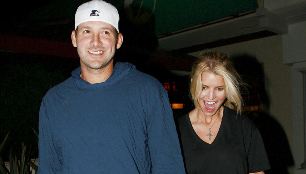 <strong>NYGIFT:</strong> Tony Romo giftet seg lørdag. Om ikke lenge skal Jessica Simpson, Tonys ekskjæreste, gifte seg. Foto: Stella Pictures