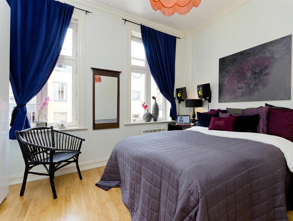 TIL SALGS: Charlotte Thorstvedt selger sin koselige leilighet på Grønland. Prisantydningen på den 64 kvadratmeter store leiligheten er 1 990 000 kroner. Foto: Foto: Alejandro Villanueva / Invisio