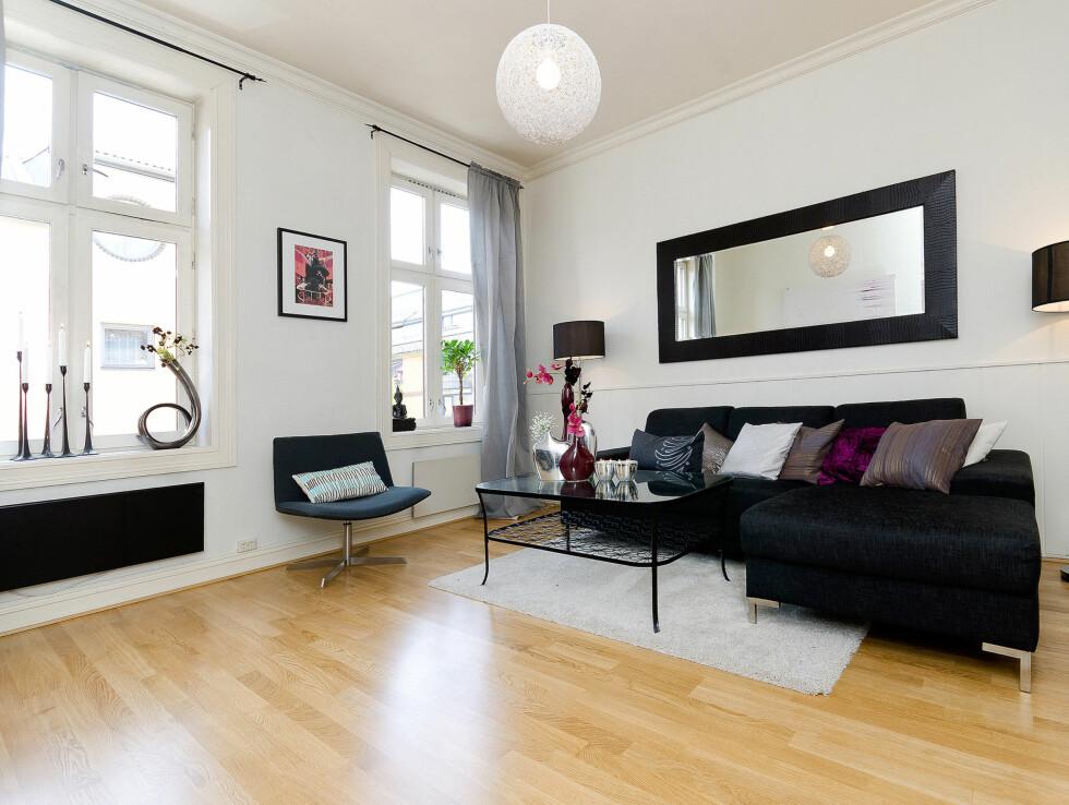 DELTE MED VENNINNE: Charlotte delte leiligheten hun nå selger sammen med en venninne i to år. Foto: Foto: Alejandro Villanueva / Invisio