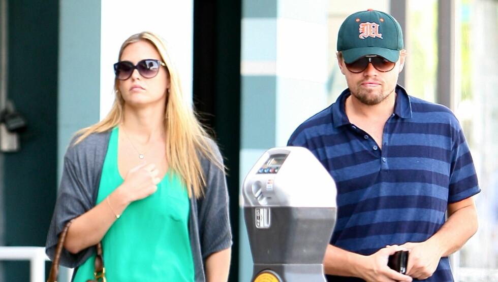 <strong>ØNSKET BARN:</strong> Leonardo DiCaprio ville ha barn. Det ville ikke Refaeli. Det skal ha gjort DiCaprio rasende. Foto: All Over Press