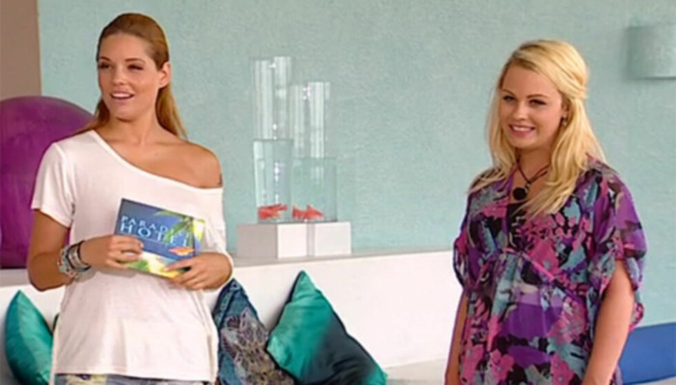 <strong>FIKK SJOKK:</strong> Paradise-nykommeren Bianca Klemetsen sier til Seher.no at hun fikk sjokk da hun så seg selv på TV i mandagens episode av realityserien.