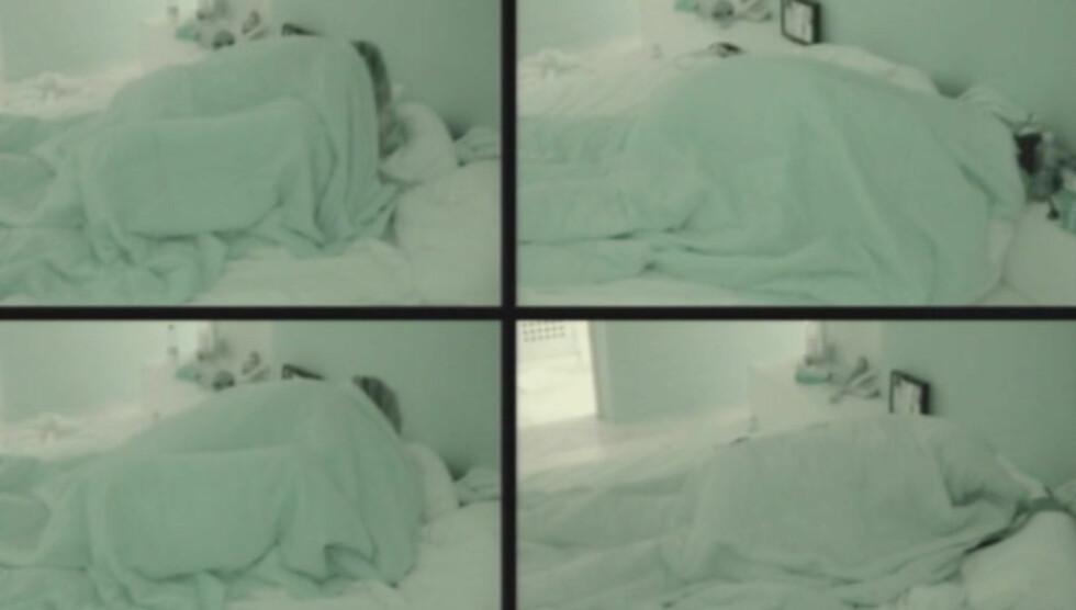 <strong>HYRDESTUND NUMMMER TO:</strong> To måneder etter at de hoppet til sengs foran «Paradise Hotel»-kameraene, ble det igjen hete scener mellom Maren Kallhovd og Kim Høgås Hansen. Foto: TV3