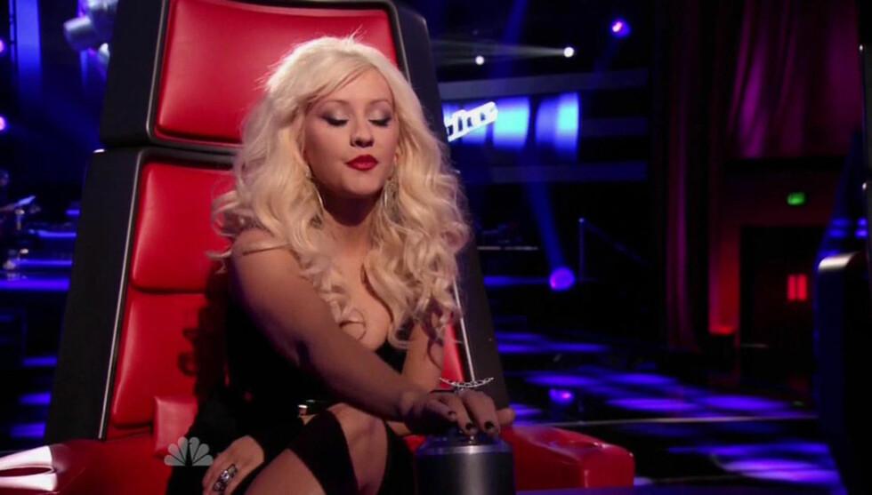 <strong>SJOKKERTE:</strong> Christina Aguilera sjokkerte publikum med sine friske påstander. Foto: All Over Press