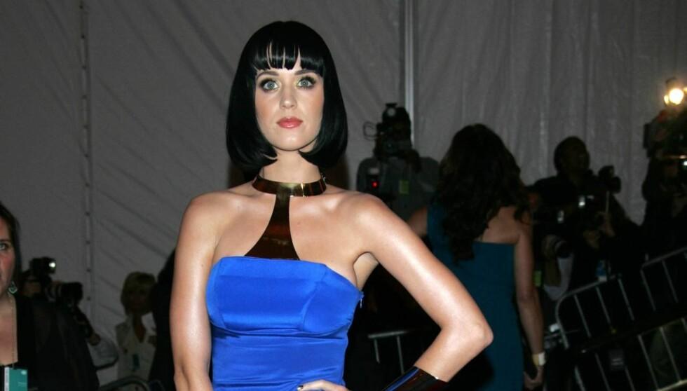 FRASTJÅLET BARNDOMMEN?: Katy Perry mener hun ikke fikk vokse opp som et barn, på grunn av strenge, kristne foreldre. Foto: All Over Press