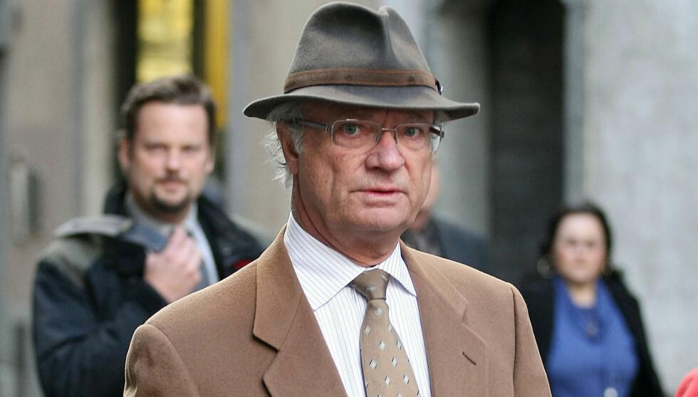 <strong>NY SKANDALE:</strong> Et lydopptak med en nær venn av kong Carl Gustaf skal ha tatt kontakt med kriminelle for å kjøpe opp materiale fra en av hovedkildene til skandaleboken om svenskekongen. Foto: Stella Pictures