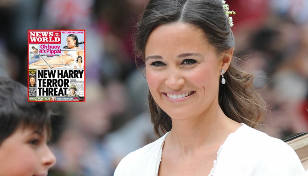 TRYKKET TOPPLØSBILDE: 27-åringen får gjennomgå i britiske medier. News of the World trykker nå et fem år gammelt toppløsbilde av skjønnheten. Foto: Stella Pictures