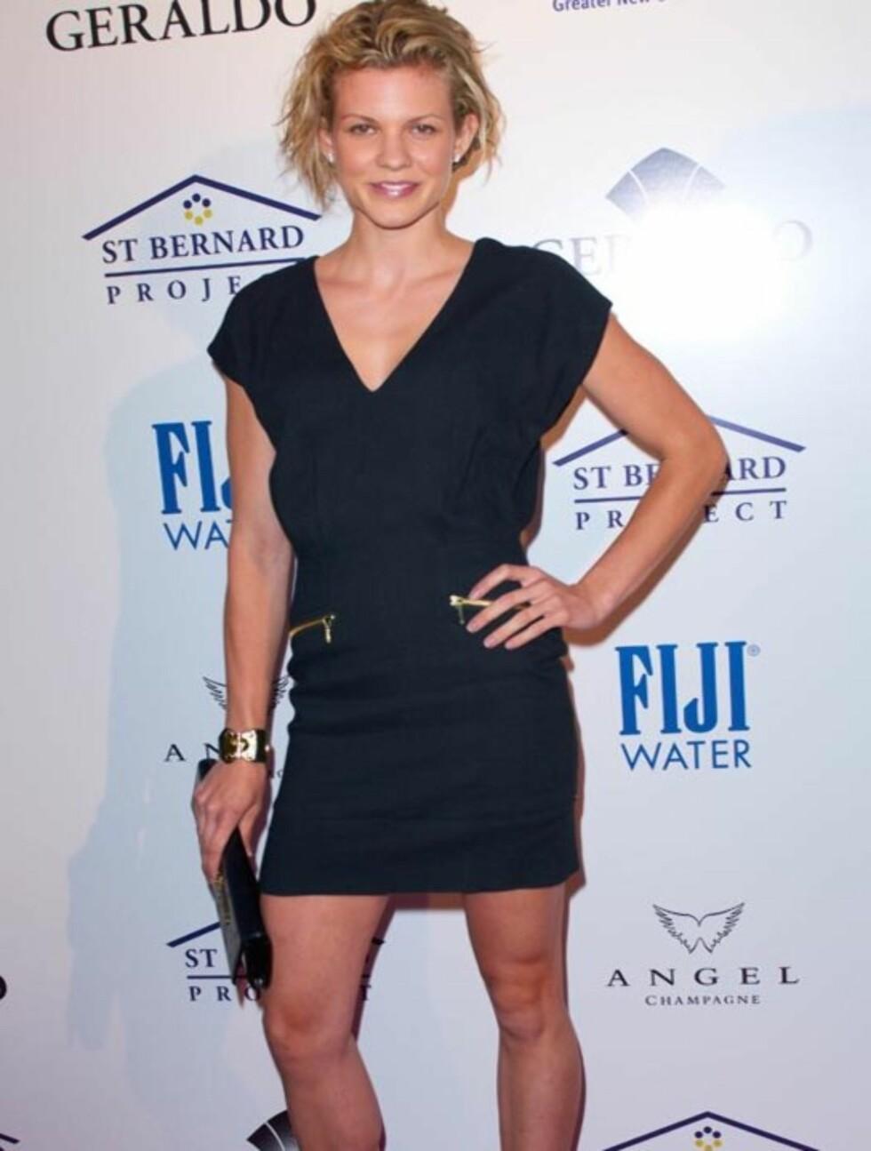 <strong>KOM OGSÅ:</strong> Skuespiller Angel McCord var hakket med rufsete på håret enn Britney Spears... Foto: All Over Press
