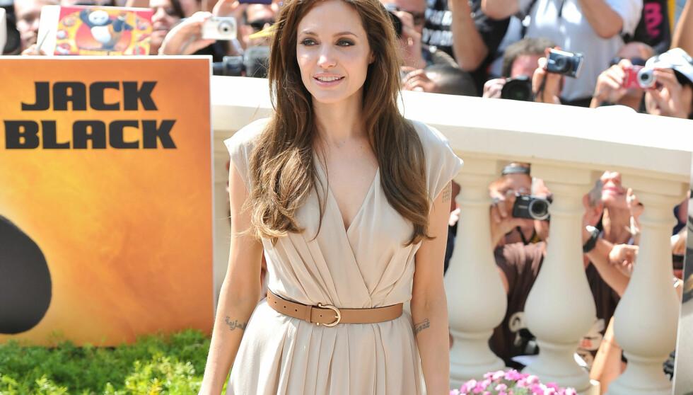 <strong>ET PROBLEM?:</strong> Det hevdes at Angelina Jolie kan ha et alvorlig problem. Anoreksi og rus har blitt nevnt. Foto: All Over Press