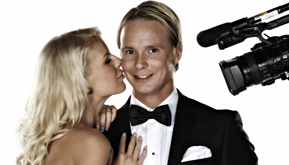 <strong>TAR BOTOX:</strong> Petter Pilgaard, som her er avbildet sammen med kjæresten Mari Haugersveen, hopper i det og tar en botox-kur i den neste episoden av «Petter elsker Mari». Foto: TV 2