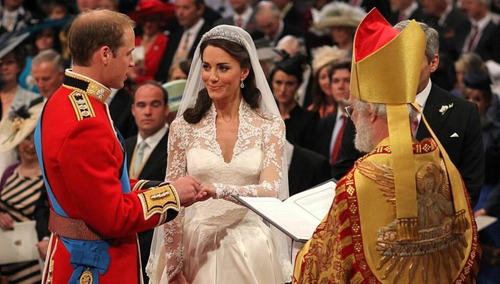 <strong>SA JA:</strong> Men Kate Middleton lovet ikke å adlyde prins William. Foto: All Over Press