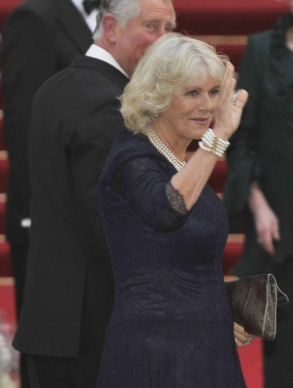 PÅ FEST: Prins Charles' kone, Camilla Parker Bowles. Foto: Stella Pictures