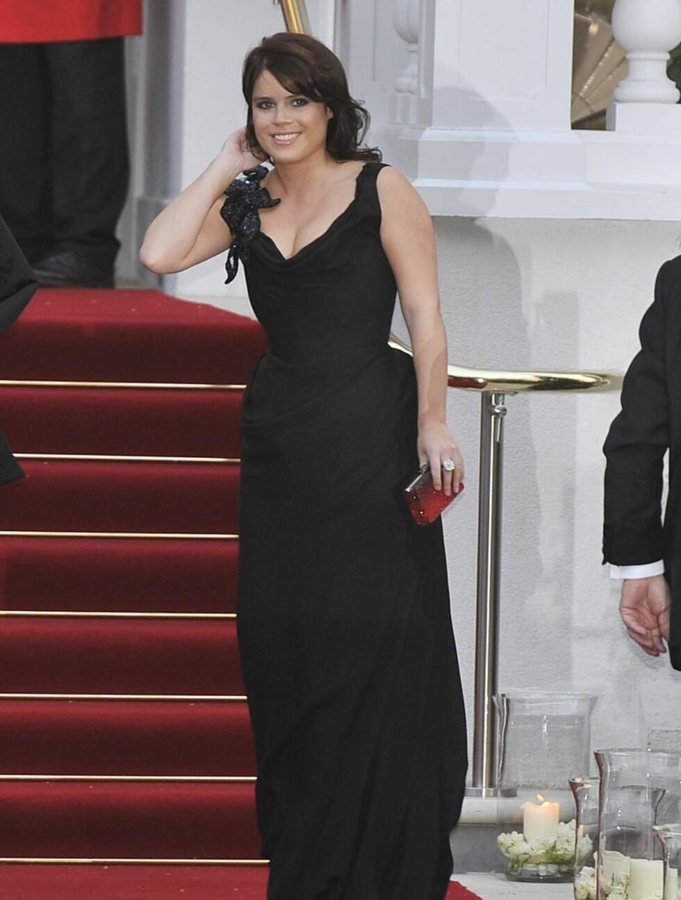 PÅ FEST: Datteren til prins Andrew og Sarah Ferguson, prinsesse Eugenie. Foto: Stella Pictures