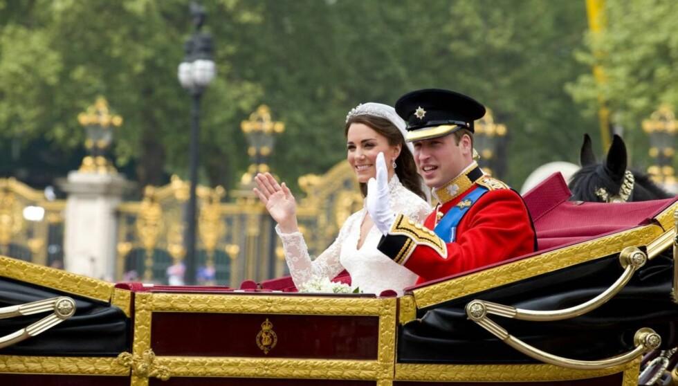 <strong>REISTE I HEMMELIGHET:</strong> Prins William og Kate Middleton har nå forlatt Storbritannia i hemmelighet , for å nyte sin bryllupsreise i fred og ro. Foto: All Over Press