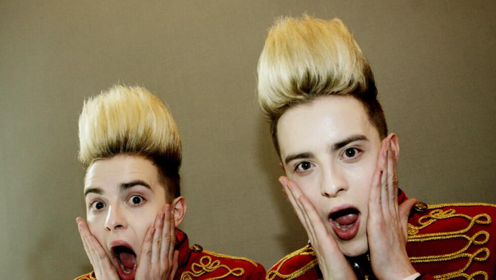 <strong>ENEGIBOMBER:</strong> John og Edward Grimes blir elsket og hatet over hele verden. Foto: Seher.no / Kirsti Ertsås