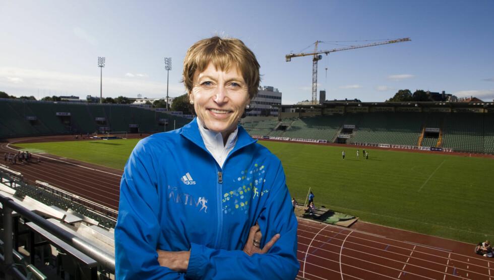 SYK LENGE: Grete Waitz fikk diagnosen kreft i 2005. Her er hun fotografert den 23. september 2009.  Foto: Scanpix