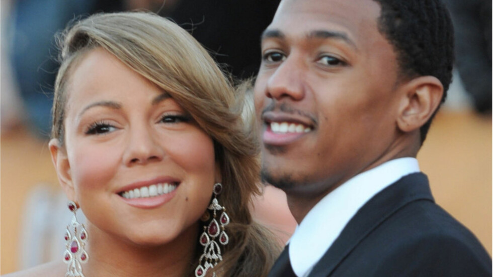 <strong>BLE FORELDRE:</strong> Lørdag 30. april kom endelig tvillingene til Mariah Carey og ektemannen Nick Cannon til verden. Her er det lykkelige paret avbildet sammen på SAG-Awards i Los Angeles i januar.  Foto: All Over Press