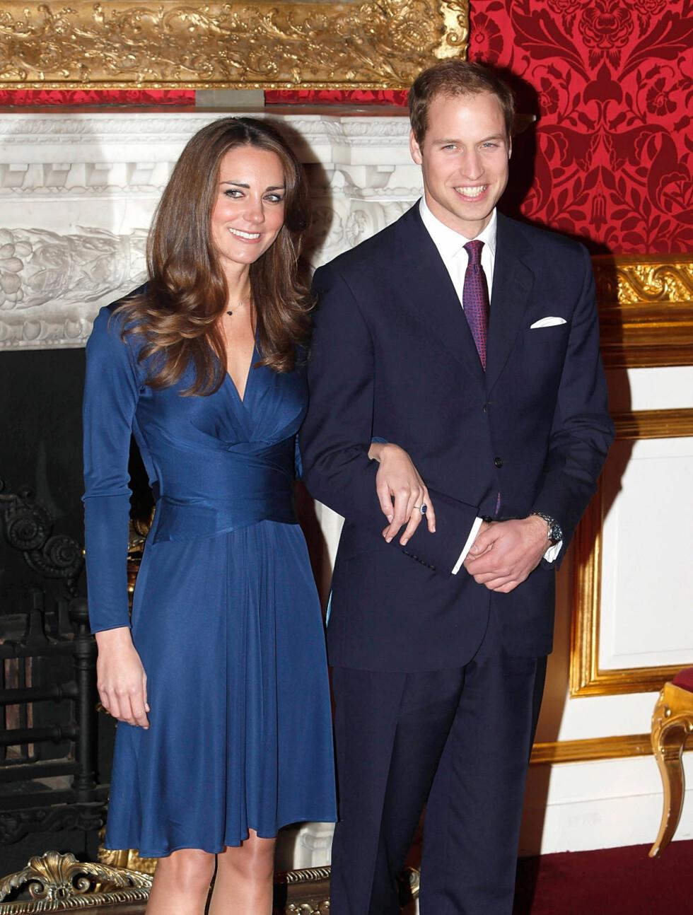 <strong>KLARE FOR DEN STORE DAGEN:</strong> Fredag er det endelig duket for kongelig bryllup mellom prins William og Kate Middleton i London. Foto: Stella Pictures