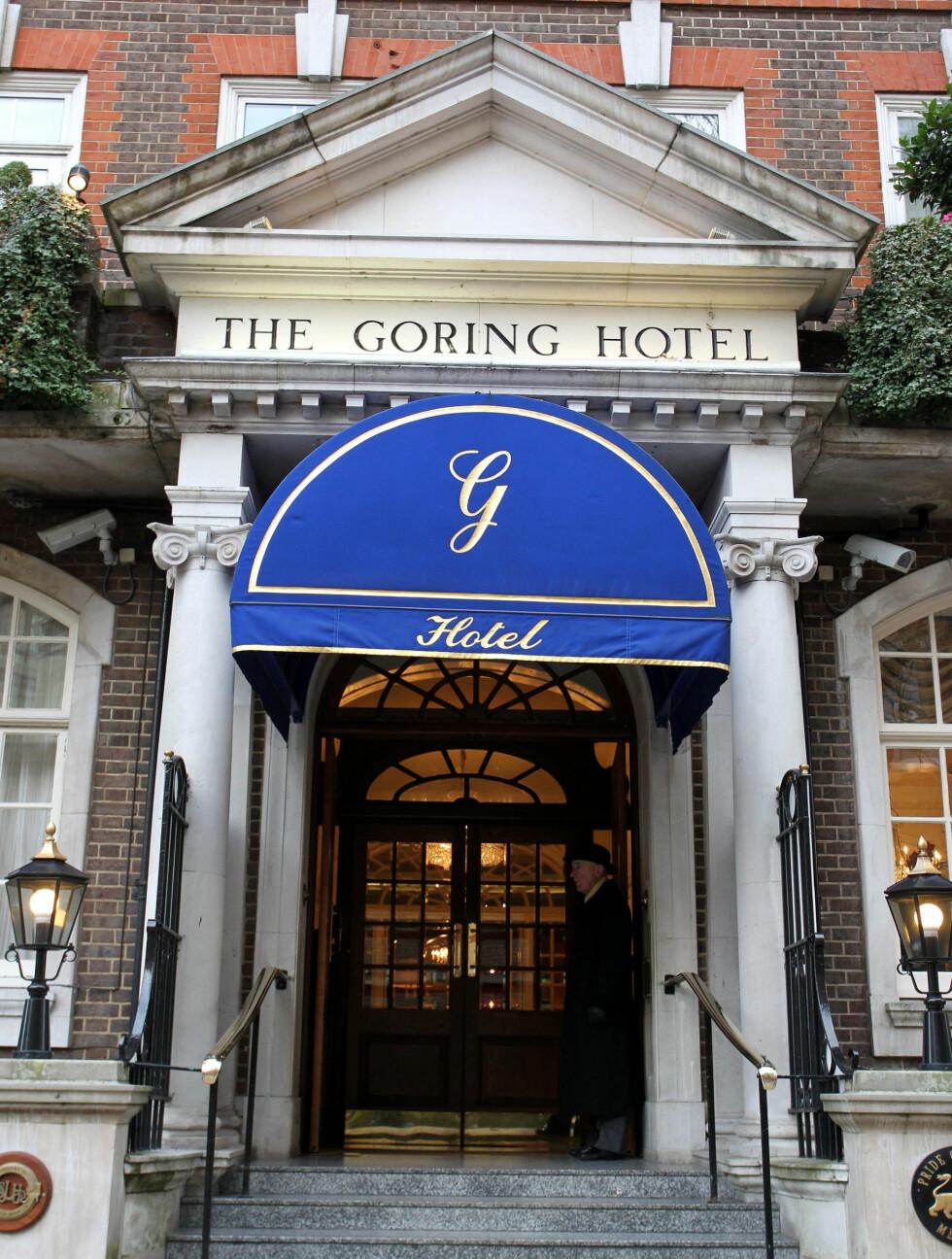 <strong>LUKSURIØST:</strong> Ifølge The Sun kommer Kate Middleton til å tilbringe natten til 29. april på en suite ved The Goring Hotel i London. Foto: All Over Press