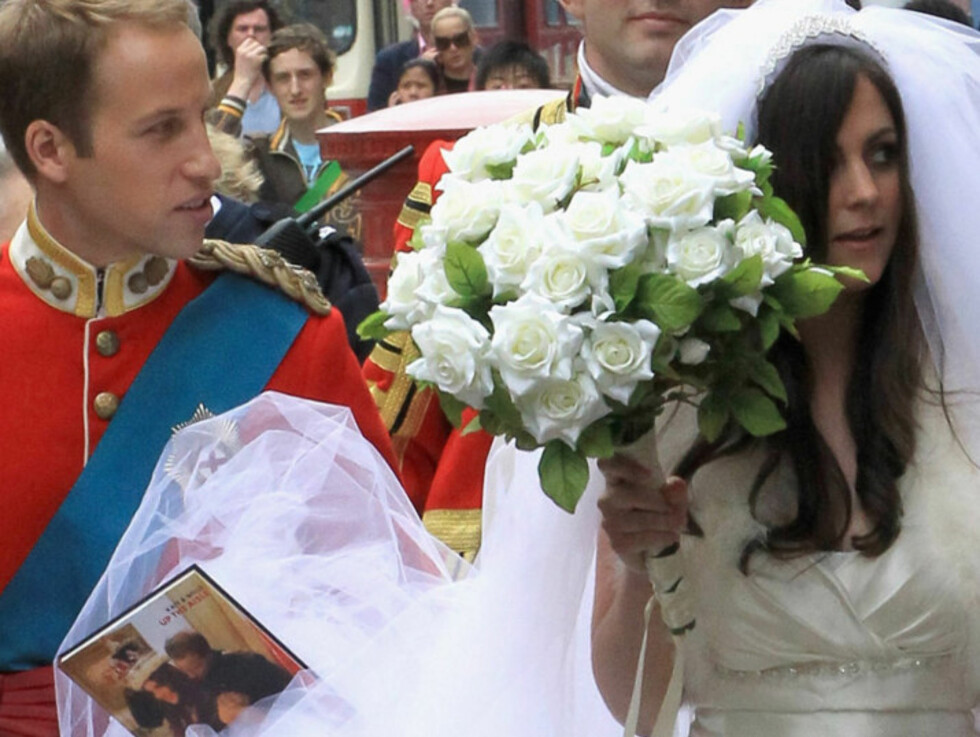 <strong>DOBBELTGJENGERE:</strong> Flere William og Kate-dobbeltgjengere har opptrådt på en rekke London-arrangementer den siste tiden. Foto: All Over Press