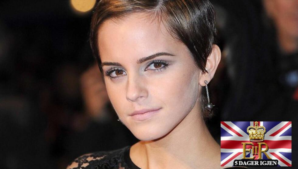 KLAR FOR NYE UTFORDRINGER: Emma Watson er klar for nye filmprosjekter når innspillingene av «Harry Potter» er over.